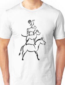 Bremen Town Musicians (Black Ink) Unisex T-Shirt