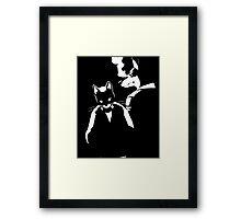 Lone Digger Framed Print