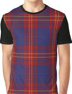 01128 Butler Fashion Tartan Graphic T-Shirt