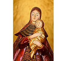 Holy Mother And Child Photographic Print