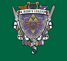 A Hero's Legend Crest Unisex T-Shirt