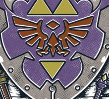 A Hero's Legend Crest Sticker