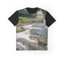 West Burton Falls Yorkshire Dales Graphic T-Shirt