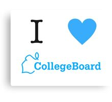 I Heart CollegeBoard! Canvas Print