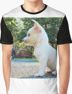 Puppy takes a break Graphic T-Shirt