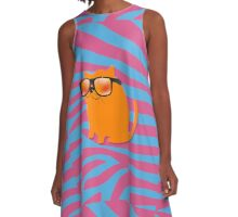 Cool Cat A-Line Dress