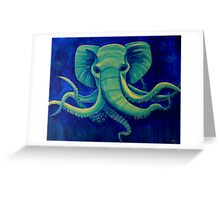 Octophant - Artwork by Minxi Greeting Card