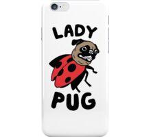 lady pug iPhone Case/Skin
