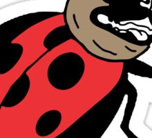lady pug Sticker