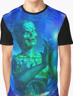 Monster in a Bubble Graphic T-Shirt
