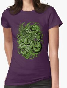 The Call of Cthulhu Womens Fitted T-Shirt