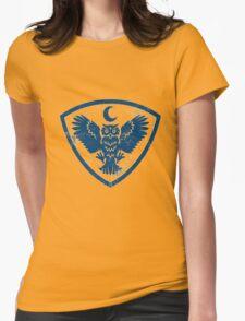 owl bird Womens Fitted T-Shirt