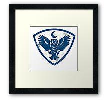 owl bird Framed Print
