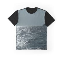 hill rocks on santorini island Graphic T-Shirt