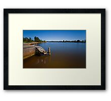 Beautiful Manning River 666 Framed Print