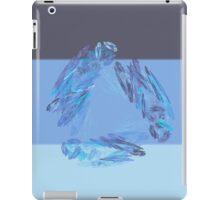 Blue filtered Fractal iPad Case/Skin