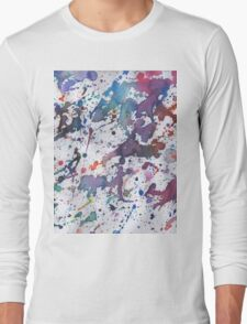 rainbow ink  Long Sleeve T-Shirt