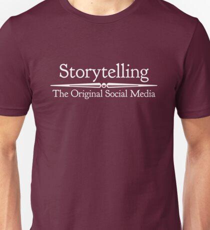 Storytelling: The Original Social Media Unisex T-Shirt
