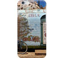 Standing At The Door iPhone Case/Skin