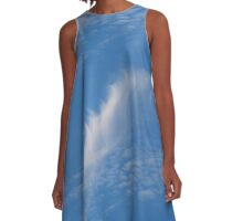 Feather in the Sky A-Line Dress