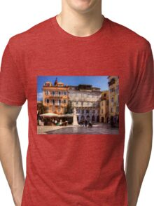 Heroes of Cypriot Struggle Square Tri-blend T-Shirt