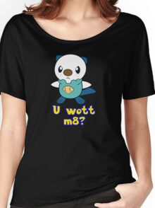 U wott m8? Women's Relaxed Fit T-Shirt