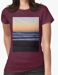 Orange Sunset on the Oregon Coast T-Shirt