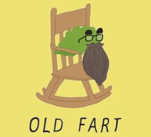 Old Fart Tee One Piece - Short Sleeve