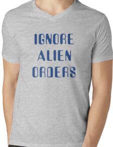 Ignore Alien Orders Mens V-Neck T-Shirt