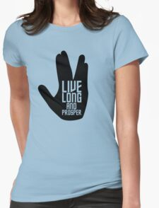 Live long and prosper Womens Fitted T-Shirt