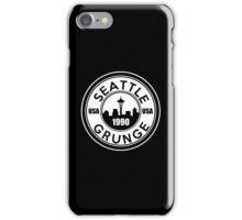 Seattle Grunge iPhone Case/Skin