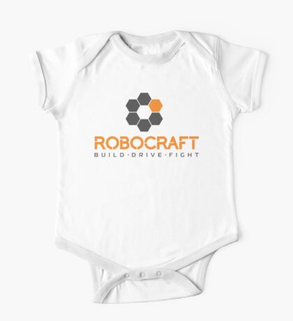 Robocraft Logo (Dark) One Piece - Short Sleeve