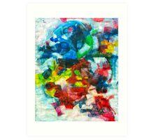 Blocks - Colours Art Print