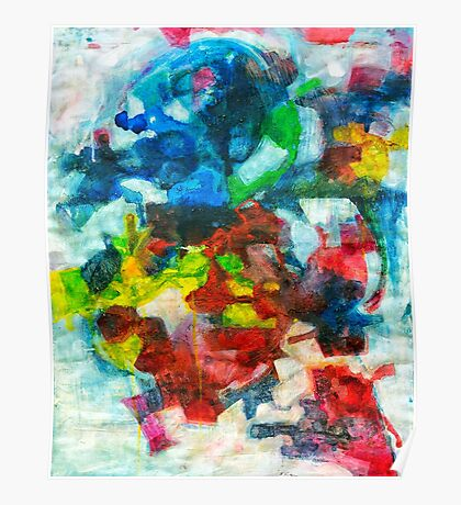 Blocks - Colours Poster