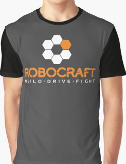 Robocraft Logo (White) Graphic T-Shirt