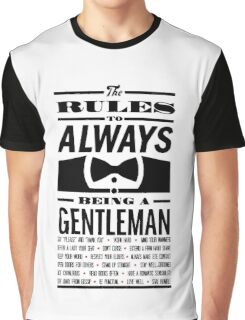 To be a Gentleman Graphic T-Shirt