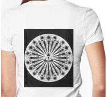 All-Seeing Eye - Black Womens Fitted T-Shirt