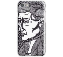 horned woman iPhone Case/Skin