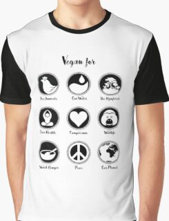 VEGAN for ... Graphic T-Shirt