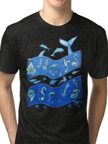 Ocean's Symphony Tri-blend T-Shirt