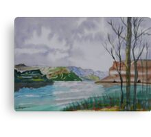 The Gap of the Columbia River Canvas Print