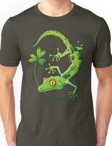 Saint Patrick's Day Gecko Unisex T-Shirt