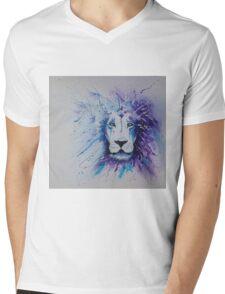 Lionstein by Lufty Mens V-Neck T-Shirt