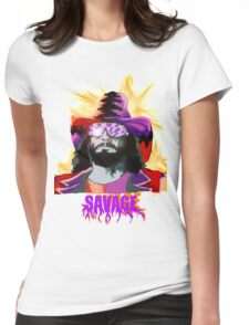 Savage.. Womens Fitted T-Shirt