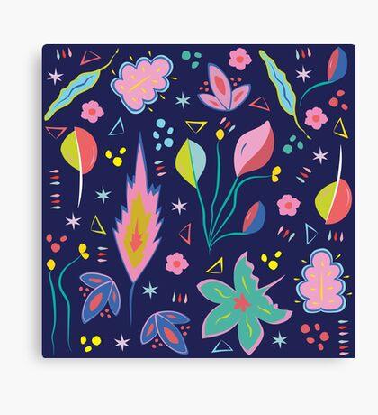 Fun in the Garden Canvas Print