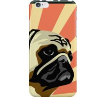 LOVE PUGS NOT DRUGS iPhone Case/Skin