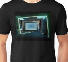 Water Walls And Sky Design Unisex T-Shirt