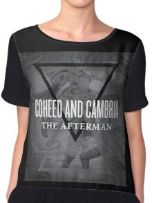 coheed cambria - the afterman album cover Chiffon Top