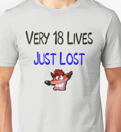 Very 18 Lives Unisex T-Shirt