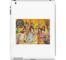 Tripping Dancers iPad Case/Skin